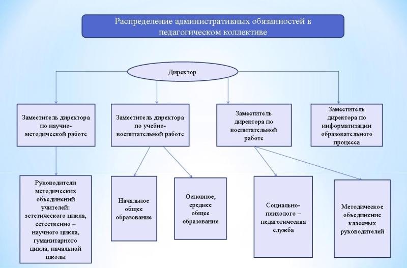 Линейно – функциональная модель организационной структуры управления МБОУ «СОШ №17»